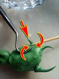 Photo: How to sculpt crab legs and pincers - Tutorial