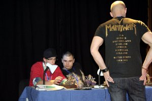 Photo: Hussar 2011 - report from miniature painting contest