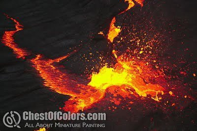 How to make lava splashes – Tutorial