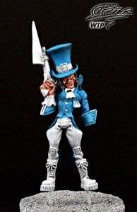 Malifaux: Seamus the Mad Hatter - tutorial (3)