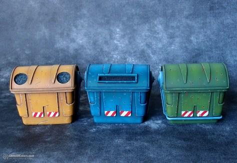 Trash Bins - Euphoria Miniatures