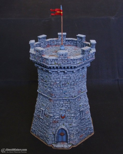 Fortified tower