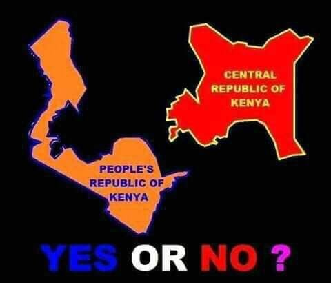 What secessionists want addressed else we split Kenya - #Letstalksecession