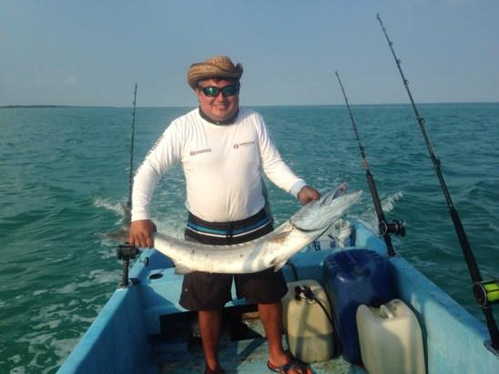 tour de pesca en la bahia de chetumal (4)
