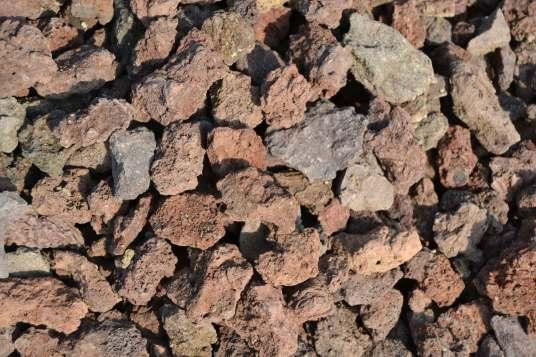 Matériaux d'ornement Pouzzolane 20/40 mm