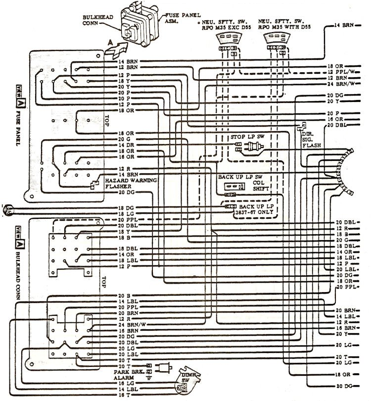 wiring_d2?resize\=665%2C718 eckles 1968 chevelle wiring diagram,chevelle \u2022 indy500 co  at aneh.co