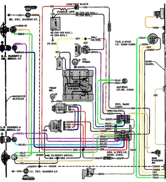 1970 chevy engine wiring harness  center wiring diagram