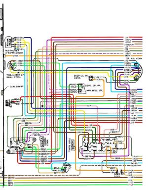 1970 Chevelle Wiring Diagrams