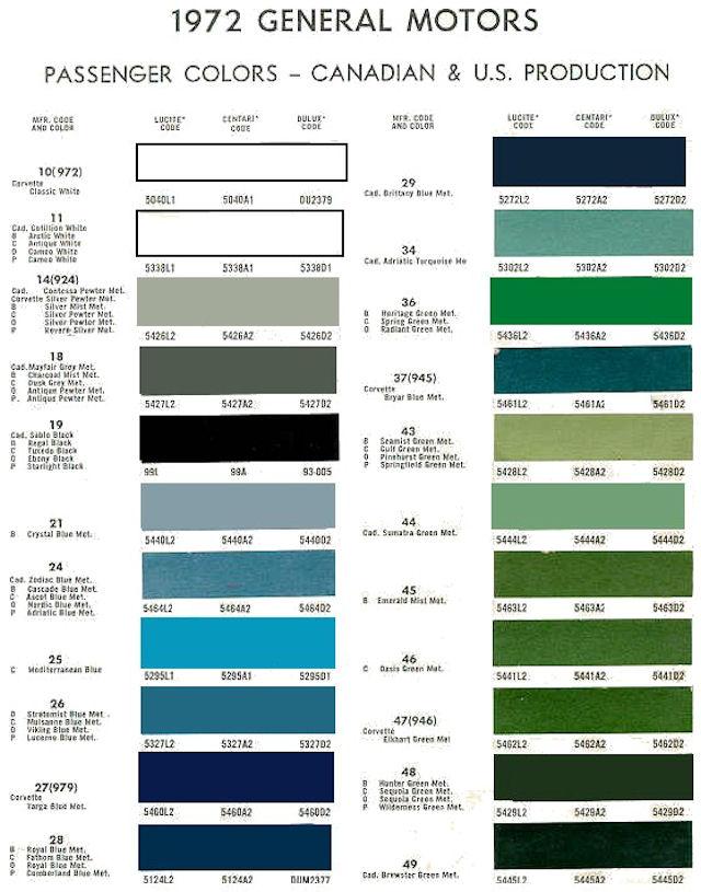 1970 Chevelle Interior Paint Code Billingsblessingbags org