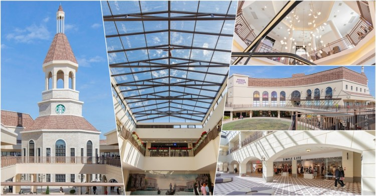 麗寶Outlet Mall二期試營運!全球獨家星巴克鐘樓、秀泰影城進駐,商家目前近6成開幕