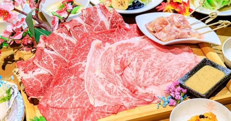 水森水產,一次就能吃到三國和牛大滿足!還有超奢侈握壽司,魚子醬、海膽、鵝肝與金箔有夠浮誇