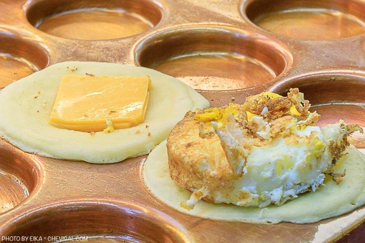 20201019200916 61 - 熱血採訪│這是車輪餅,多達40種口味鹹甜通通有!起司蛋口味就像迷你滿福堡,還有可可布朗尼奶油車輪餅螞蟻控最愛