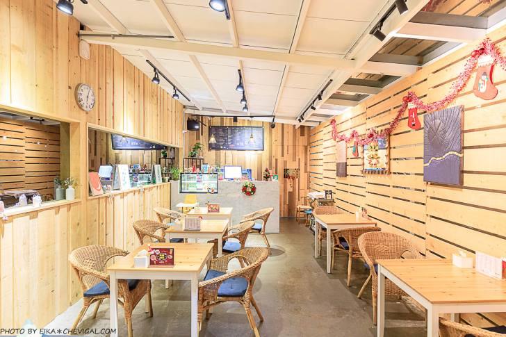 20201227230841 32 - 熱血採訪│台中秘境咖啡廳,綠意庭園搭配美麗燈泡好浪漫,還有麵食、披薩與炸物可以享用!