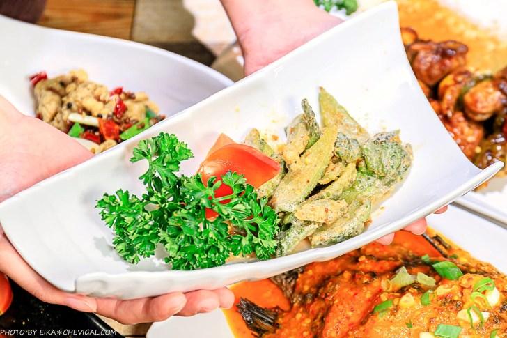 20201230144145 76 - 熱血採訪∣台中南洋風味料理,這天來吃滿額就送鹽烤蝦!二樓還有隱藏包廂KTV和飛鏢機,包場也沒問題!