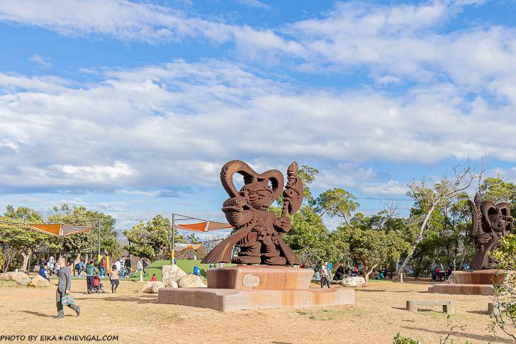 20201231103712 36 - 大甲鐵砧山雕塑公園,全新共融遊樂場完工開放,還有超酷滑索遊具!