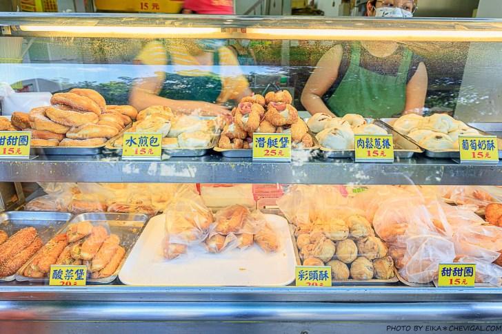 20210714120022 95 - 科博館水煎包,超過50年歷史的銅板價傳統下午茶!潛艇堡好吃不油膩,甜甜圈、水煎包也不錯!