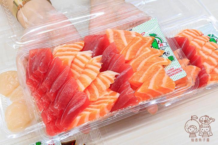 20210929205129 97 - 夜貓子才能吃得到的超人氣生魚片!半夜12點開賣,每片只要10元,想嚐鮮最好提前來排隊