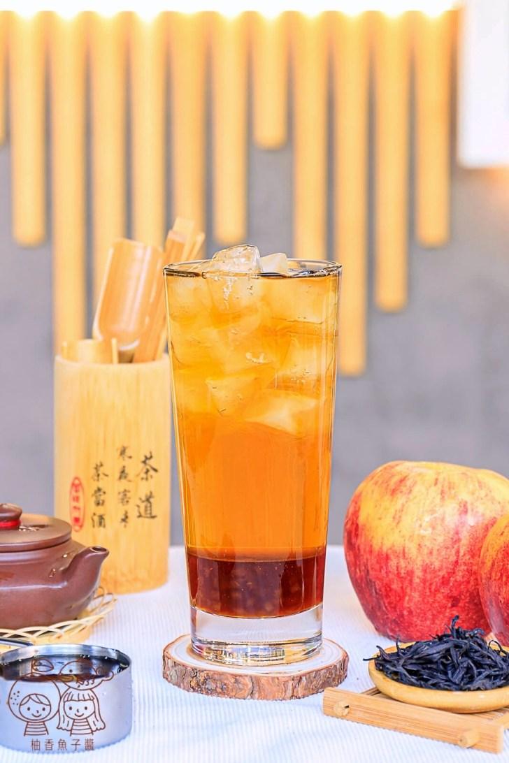 20211006131628 20 - 熱血採訪│蘋果控必喝!竟然喝得到爽脆多汁的果肉,茶森林新推出「蘋果紅玉」、「蘋果台灣綠」,同品項限時第二杯半價!