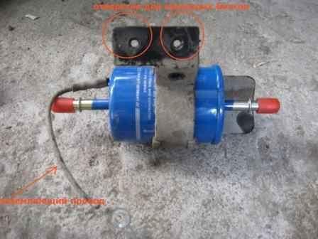 топливный фильтр на chevrolet aveo