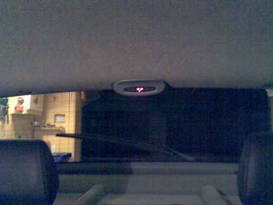 установка парковочного радара