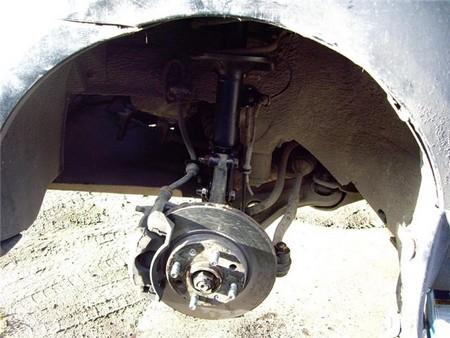 Отчет по замене передних амортизаторов «Т180-Т250»