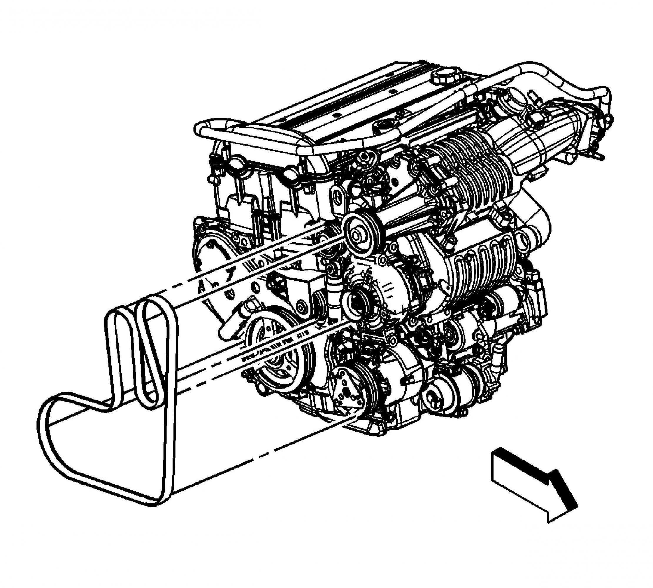 Chevrolet 5 3 Serpentine Belt Diagrams