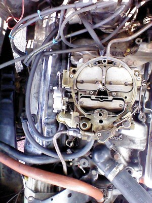 Starter and Carburetor Compatibility on 1974 350 V8 57  Chevrolet Forum  Chevy Enthusiasts Forums