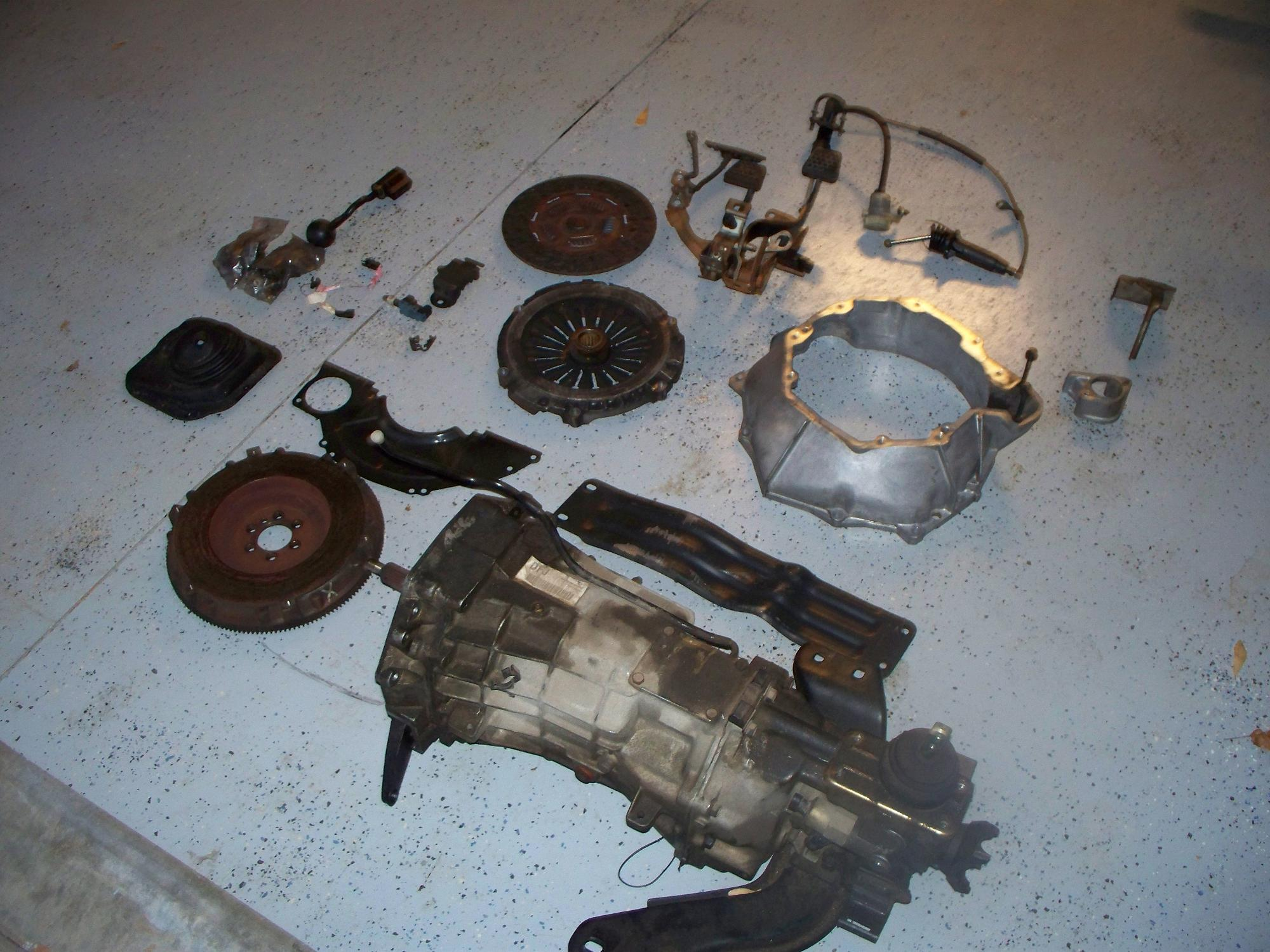For Sale Camaro T56 6 Speed Transmission Conversion Kit
