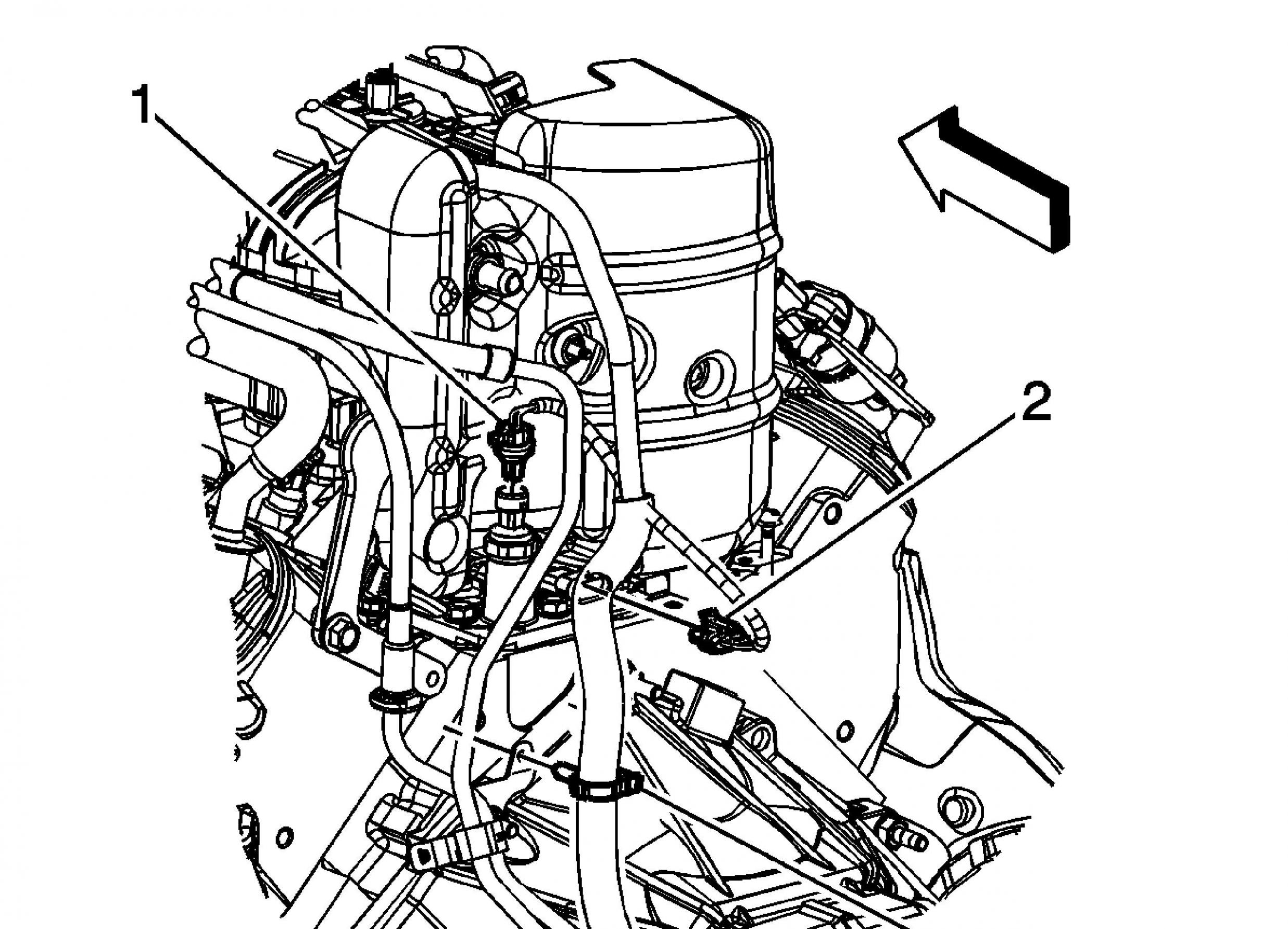 Location Of Fuel Filter 99 Suburban