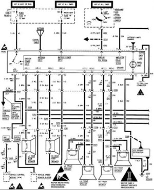 Stereo wiring diagram or help  Chevrolet Forum  Chevy