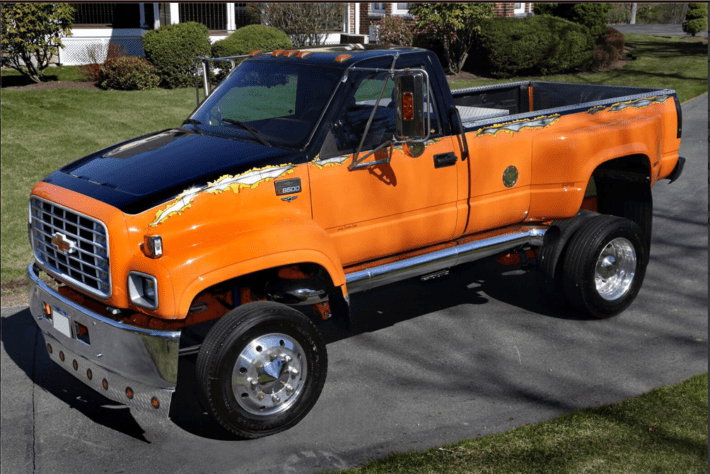 Big Dog Chevrolet C8500 Kodiak Pickup Truck Needs a New Home