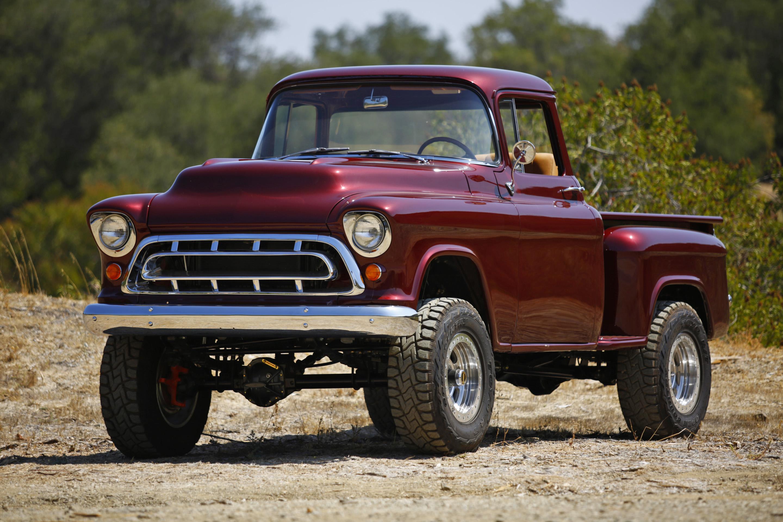First Drive: Legacy Classic Trucks 1957 Chevy Napco 4x4 Conversion - ChevroletForum