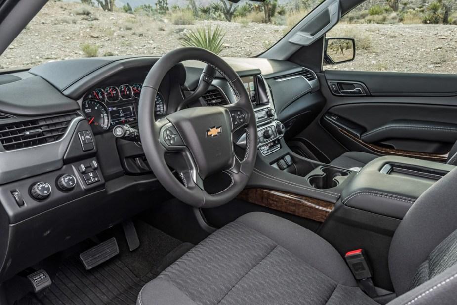 2018 Chevrolet Tahoe Custom Interior