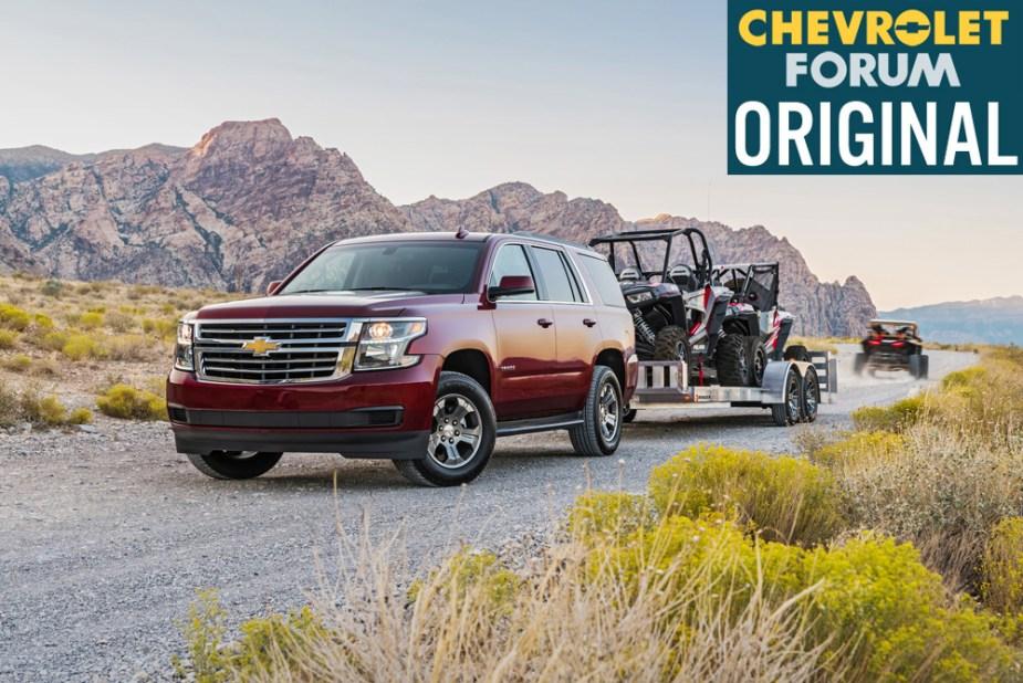 2018 Chevrolet Tahoe Custom Towing Polaris RZR