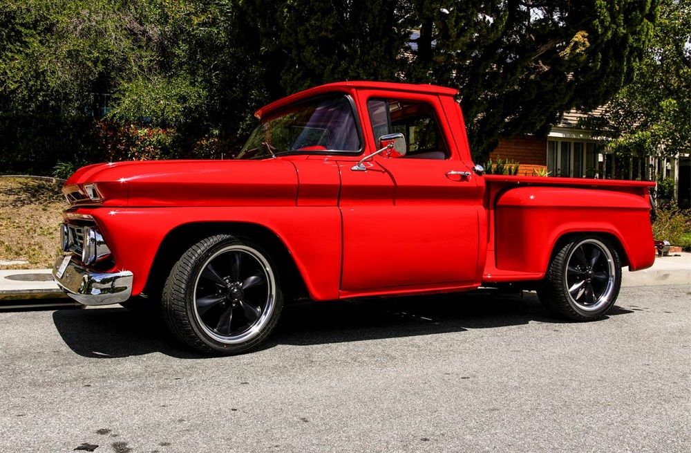 1962 Chevy C/K 10 Is One Sweet Cherry of a Truck ...