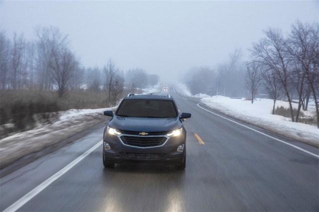 Chevrolet Equinox bad roads