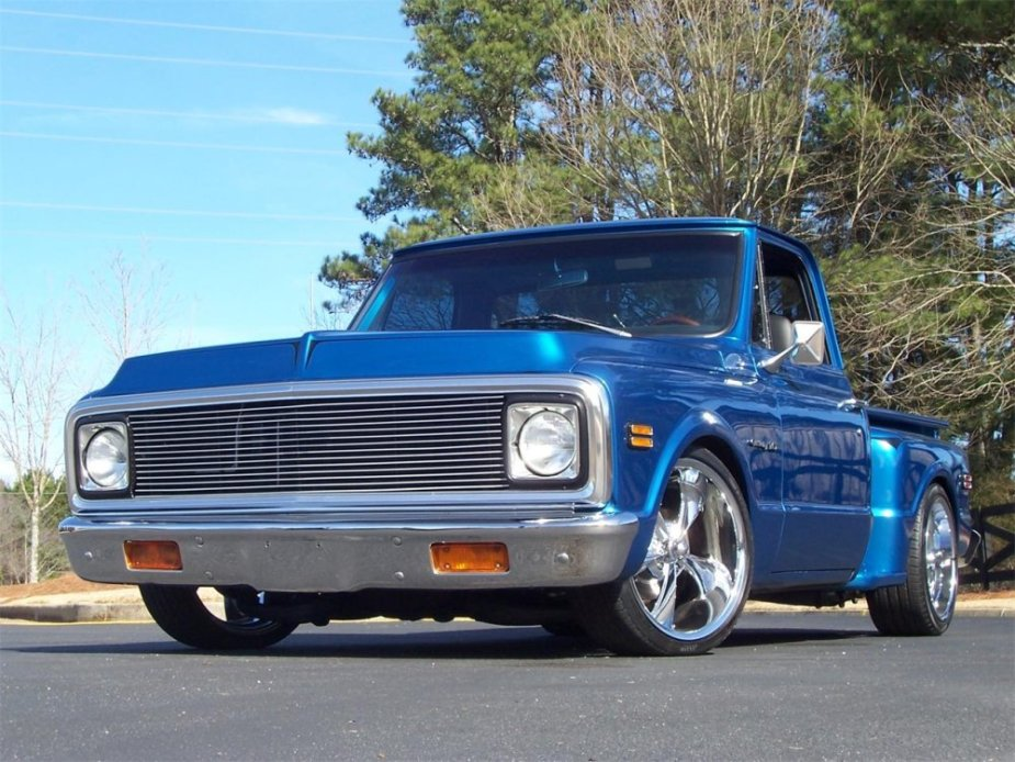 1971 Chevy C10 Low Front