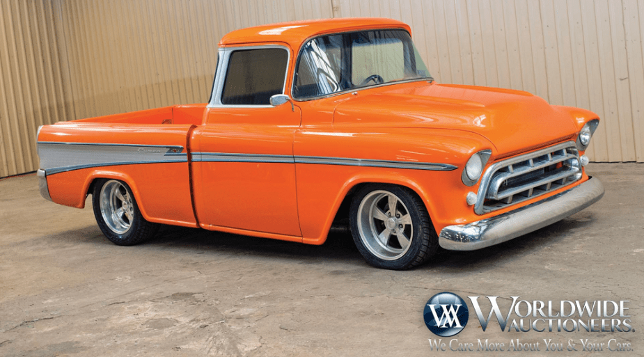 Custom 1957 Chevy Cameo Is One Rare And Expensive Build