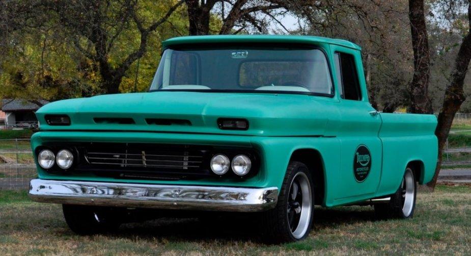 196 Chevrolet C10 Driver Front Corner