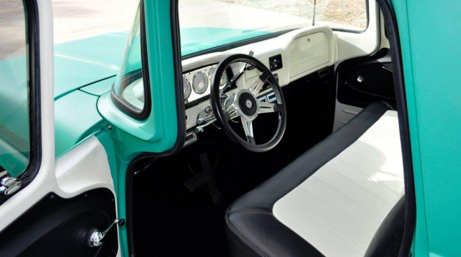 1960 Chevrolet C10 Interior