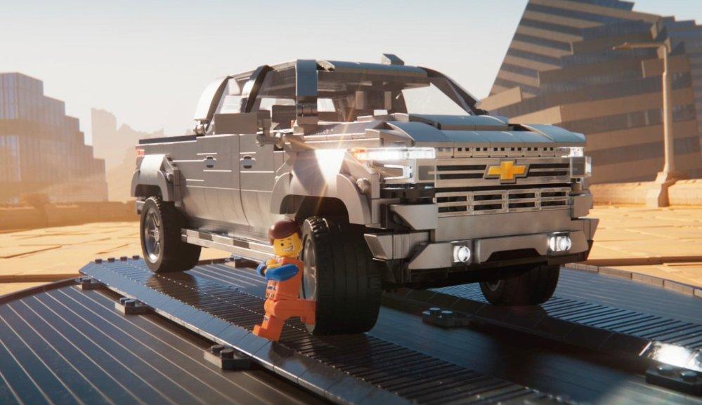 Lego Shows More Love for the 2019 Chevrolet Silverado