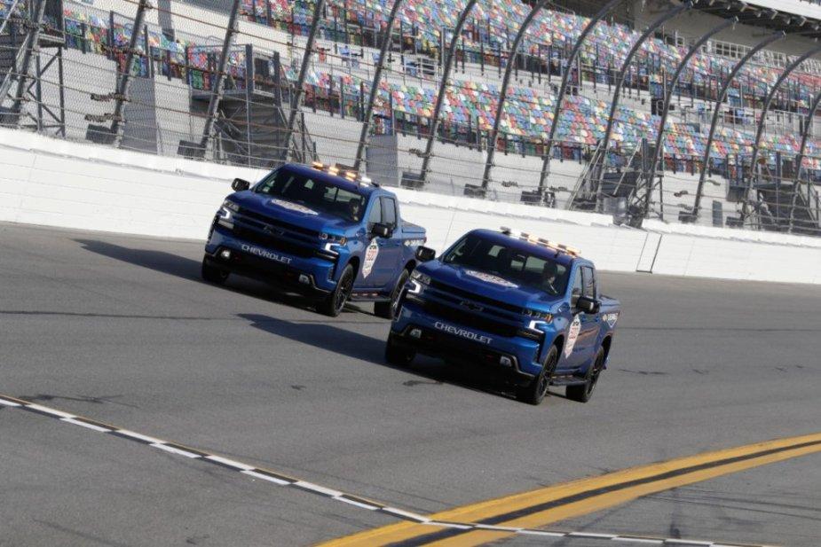 2019 Chevrolet Silverado Pace Trucks Together