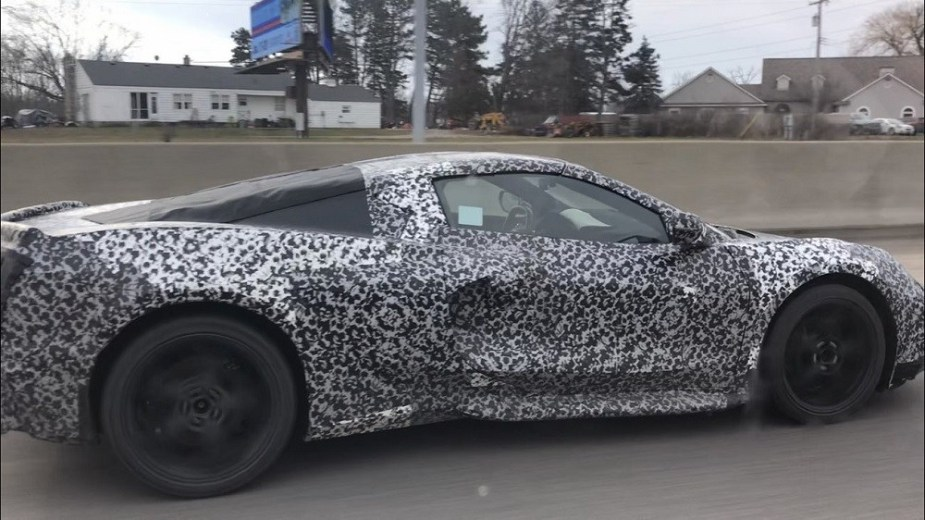 C8 Corvette Spy Camo