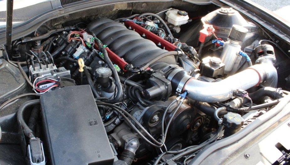 MTI Camaro Engine