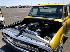 LS-swapped Chevy C10 + LS Fest West 2019