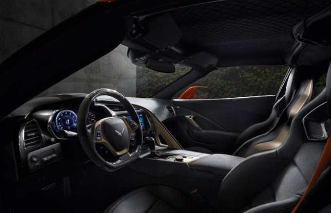 2019 Chevrolet Corvette Stingray Interior