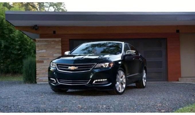 2020 Chevy Impala Exterior