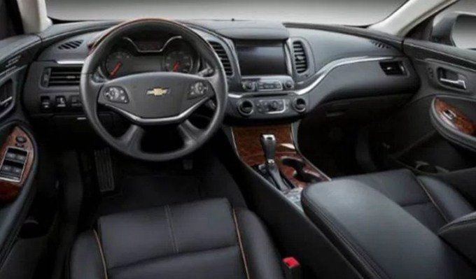 2020 Chevy Impala Interior