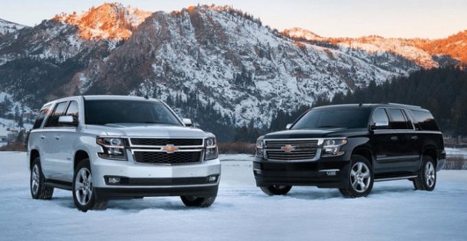 2019 Chevy Tahoe Exterior