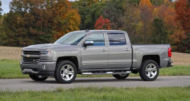 2021 Chevy Silverado Exterior